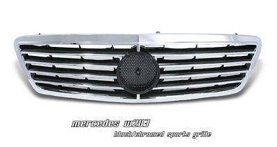 Mercedes Benz C Class 2001-2006 Chrome Sport Grille