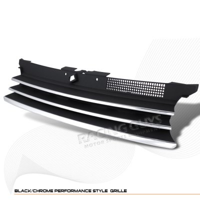VW Golf 1999-2005 Black Chrome Trim Sport Grille