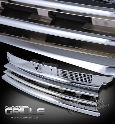 VW Golf 1999-2005 Chrome Sport Grille