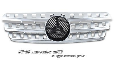 Mercedes Benz M Class 1998-2005 Chrome CL Style Sport Grille