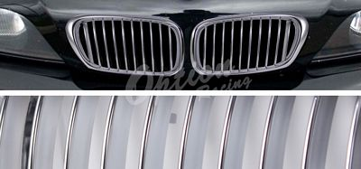 BMW E39 5 Series 1997-2003 Chrome Sport Grille