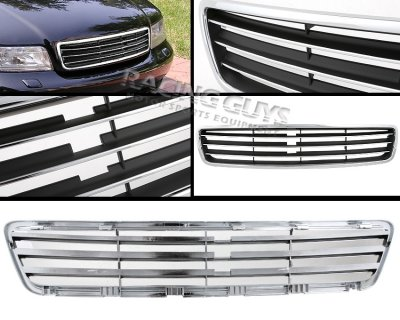 Audi A4 1996-2001 Chrome and Black Sport Grille