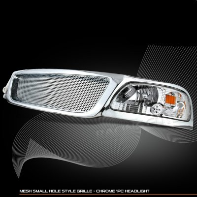 Replacement Grille Ford F150 2000 Ford F150 Chrome Grille