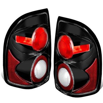 Dodge Dakota 1997-2004 Black Altezza Tail Lights