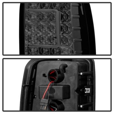GMC Yukon 2000-2006 Smoked Custom LED Tail Lights