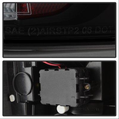 GMC Yukon 2007-2014 Black Smoked LED Tail Lights
