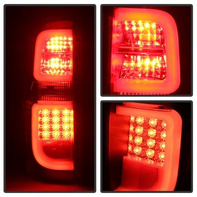 Toyota Tundra 2014-2021 Black LED Tail Lights