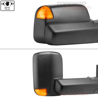 Dodge Ram 1500 2009-2018 Power Heated Towing Mirrors Signal Lights Temp Sensor