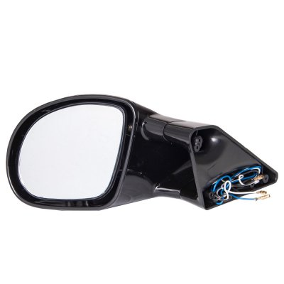 Chevy Astro 1985-2000 Black Manual Side Mirror