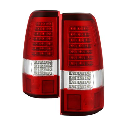 Chevy Silverado 1999-2002 Full LED Tail Lights C-DRL