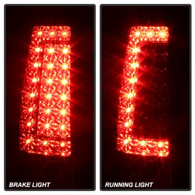 Chevy Silverado 1999-2002 LED Tail Lights C-DRL