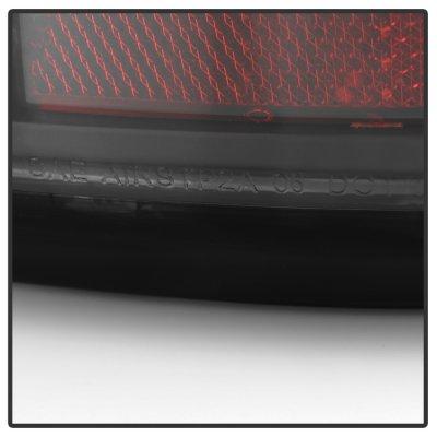 GMC Sierra 2500 1999-2006 Black LED Tail Lights Neon Tube