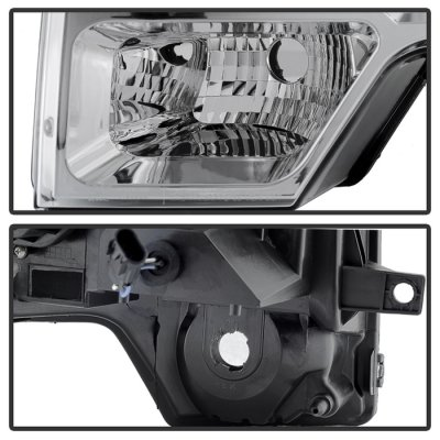 Ford F150 2009-2014 Halo Projector Headlights LED DRL