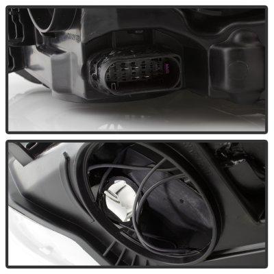 Ford Focus 2012-2014 Black Headlights