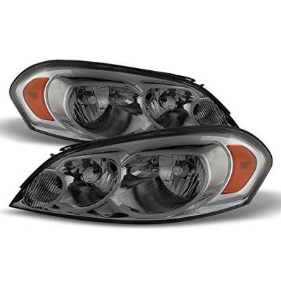 Chevy Impala 2006-2013 Smoked Headlights
