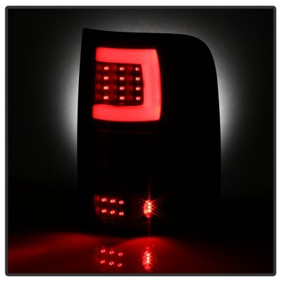 Ford F150 2004-2008 Smoked Tube LED Tail Lights