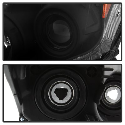 Nissan Altima Coupe 2010-2013 Black Projector Headlights