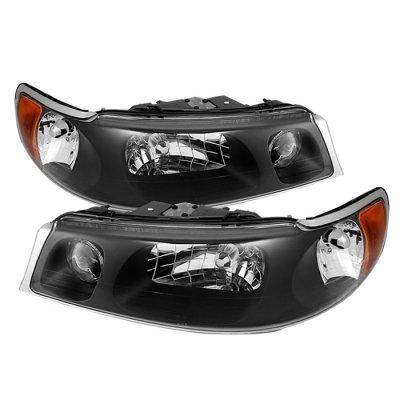 Lincoln Town Car 1998 2002 Black Headlights A103btlv102 Topgearautosport