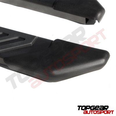 Ford F250 Super Duty SuperCab 2008-2010 Step Running Boards Black 4 Inches
