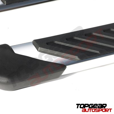 Ford F250 Super Duty Crew Cab 2008-2010 Step Running Boards Stainless 4 Inches