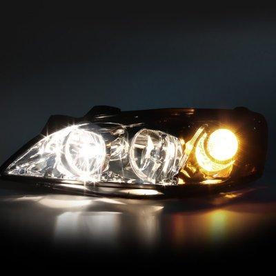 Pontiac G6 2005-2010 Smoked Headlights