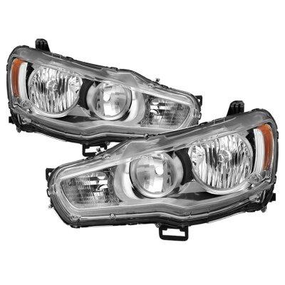 Mitsubishi Lancer 2008-2015 Headlights