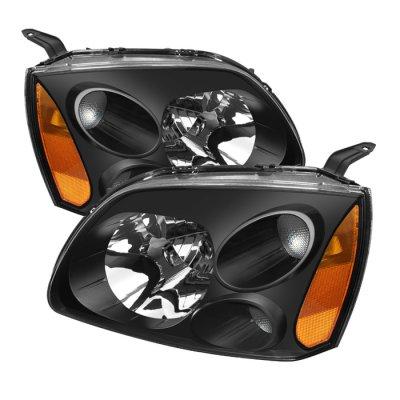 Mitsubishi Galant 2004-2008 Black Headlights