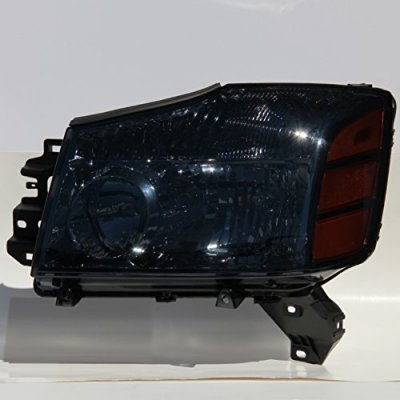Nissan Titan 2004-2015 Smoked Headlights