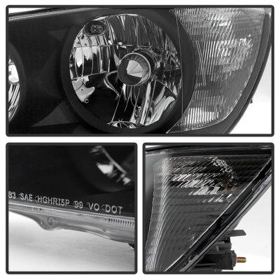 Lexus IS300 2001-2005 Black HID Headlights
