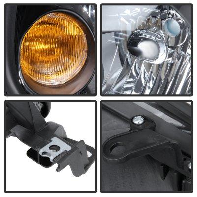 Lexus GS300 1998-2005 Black Headlights