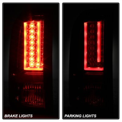Chevy Silverado 2500HD 2007-2014 L-Custom LED Tail Lights