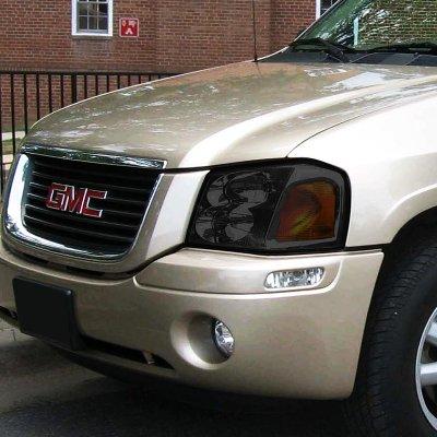 GMC Envoy 2002-2009 Smoked Headlights