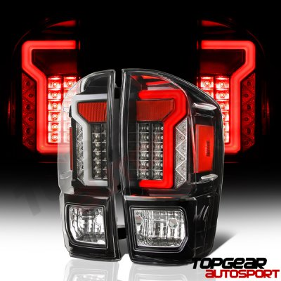 Toyota Tacoma 2016 2020 Black Custom Led Tail Lights