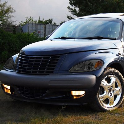 Chrysler Pt Cruiser 2001 2005 Smoked Headlights