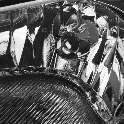Dodge Stratus Sedan 2001-2006 Smoked Headlights