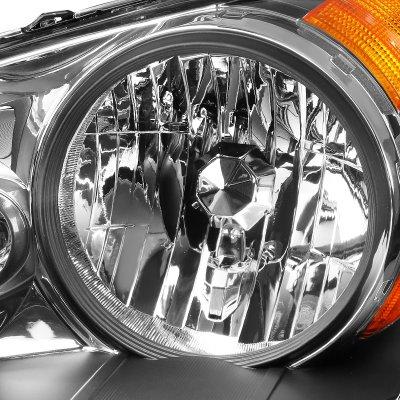 Honda Odyssey 2008-2010 Black Headlights