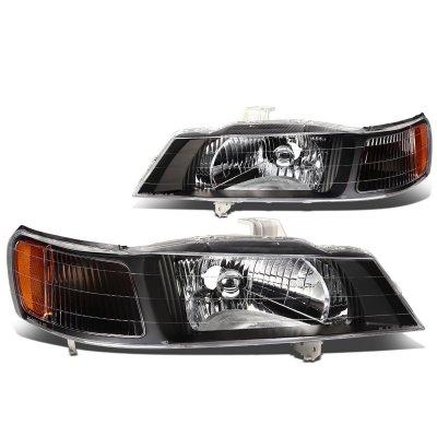Honda Odyssey 1999 2004 Black Headlights A135621l102