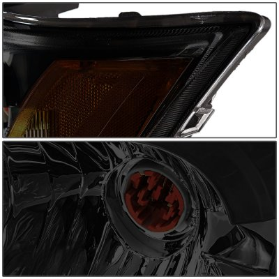 Saturn lon 2003-2007 Smoked Headlights