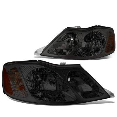 Toyota Avalon 2000 2004 Smoked Headlights A135rscb102 Topgearautosport