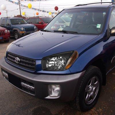 Toyota Rav4 2001 2003 Black Headlights