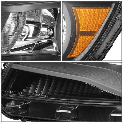 Chevy Colorado 2015-2017 Black Headlights