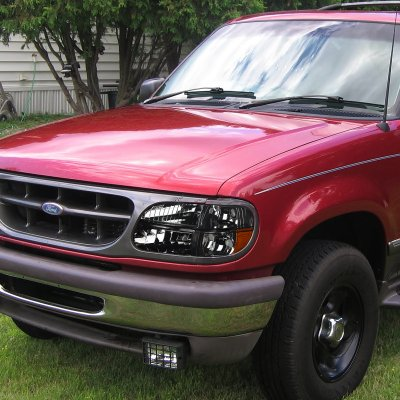 Ford Explorer 1995 2001 Smoked Headlights
