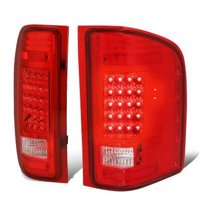 Chevy Silverado 2500HD 2007-2014 LED Tail Lights