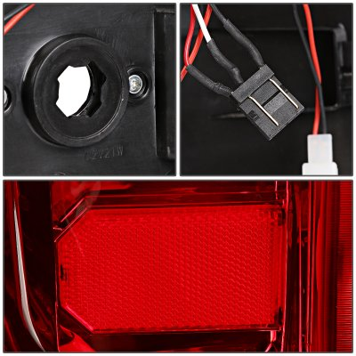 Chevy Silverado 2014-2018 LED Tail Lights C-Tube