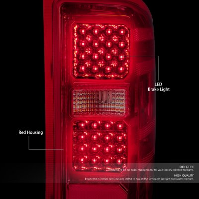 Chevy Silverado 2500HD 2015-2019 LED Tail Lights