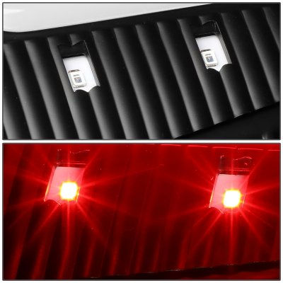 Dodge Ram 2009-2017 Black LED Tail Lights C-Tube