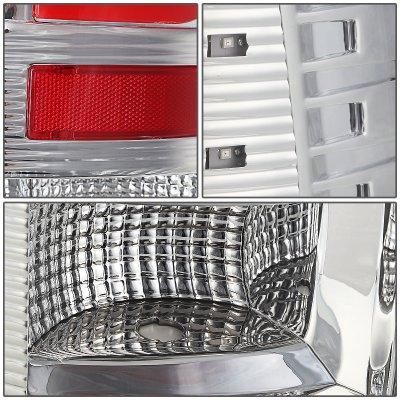 Dodge Ram 2009-2017 Clear LED Tail Lights C-Tube