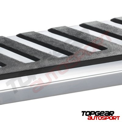 Ford F250 Super Duty Crew Cab 2017-2019 Running Boards Step Stainless 4 Inches