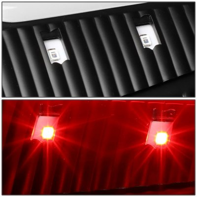 Ford F450 Super Duty 1999-2007 Black LED Tail Lights C-Tube