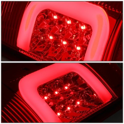 Ford F450 Super Duty 1999-2007 LED Tail Lights C-Tube